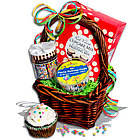 Cupcake Time� Gift Basket Stack