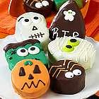 Spooky 'n Scary Mini Brownie Cakes Gift Box