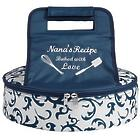 Personalized Baked with Love Pie Carrier