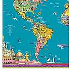 Children's Laminated World Map