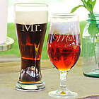 Mr. and Mrs. Pilsner Set