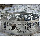 Northwoods Wildlife Decorative Fire Ring