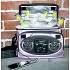 Champagne Pink Chillin iPod Ready Radio Cooler