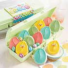 Easter Egg Carton of Cutout Cookies