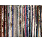 Vinyl Record Stack Puzzle