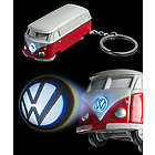 VW Bus Key Chain Light