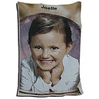 Personalized Color Photo Throw