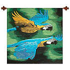 Amazon Macaws Wool Tapestry