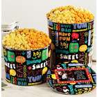 Fun with Snacks 2 Gallon 4-Flavor Popcorn Tin