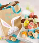 Easter Canvas Tote Bag with 24 Cookies