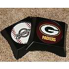 Packers or Brewers Two Coaster Buddy Set