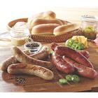 4 Premium Smoked Cheddar Jalapeno Bratwursts