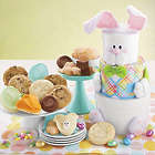 Easter Bunny Cookies and Treats Gift Tower