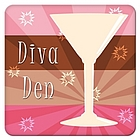 Cocktail Party Diva Den Coasters