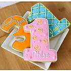 Personalized PartyThemed Cookies