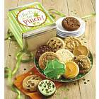 Too Cute To Pinch St. Patrick's Day Cookies in Gift Tin