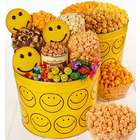 2 Gallon Tin Smiley Face Snack Assortment