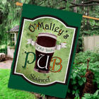 Personalized Old Irish Pub House Flag