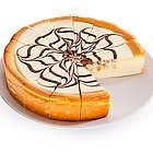 9 Inch White Chocolate Swirl Cheesecake