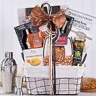 Cocktail Party Shaker and Snack Collection Gift Basket