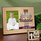 Personalized God Bless Holy Communion Frame