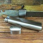Monogrammed Cigar Case, Flask, and Zippo Lighter