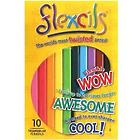 Flexcils 10 Pack of Colored Pencils