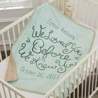 Baby's Personalized We Loved You Before We Knew You Blanket
