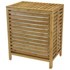 Bamboo Open Slat Hamper