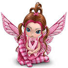 Magic of Hope Breast Cancer Support Fairy Figurine