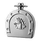 Personalized 6 Oz Mirror Finish Horse Shoe Flask