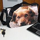 Photo or Logo Personalized Laptop - Messenger Shoulder Bag