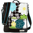 On the Run Floral iPad Messenger Bag