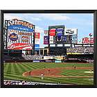 New York Mets Personalized Scoreboard 16x20 Framed Canvas