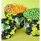 St. Patrick's Day 2 Gallon Green Butter Popcorn Tins