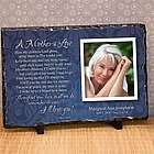 Mother's Love Photo Memorial Plaque