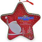 Jolly Santa Star Chocolate Gift Tin