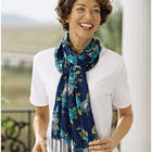 Women's Big Blue Waterways Scarf