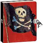 Pirate Lock and Key Diary