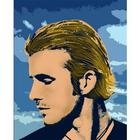 David Beckham Pop Art Print