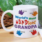 Personalized Most HANDsome Coffee Mug