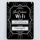 Personalized WiFi Password Dry Erase Sign