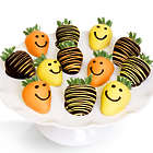 Smile Chocolate-Covered Strawberries
