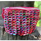 Hot Pink Confetti Soda Pop-Top Coin Purse