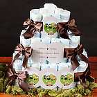Personalized 2 Tier Baby Shower Diaper Cake