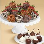 Dipped Cherries & Premium Strawberries
