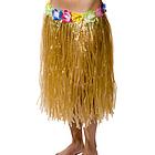 Plastic Flowered Hula Skirt