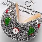 Personalized Christmas Giant Fortune Cookie