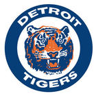 Detroit Tigers Throwback Logo Fathead Wall Graphic