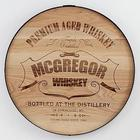 Personalized Whiskey Barrel Wood Sign